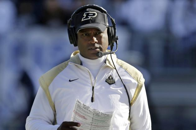 Purdue Needs to Show Patience as Darrell Hazell Rebuilds Boilermakers