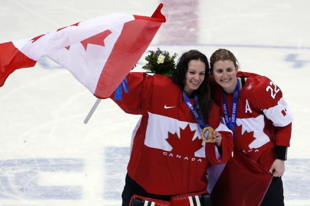 Women's Olympic Hockey Results 2014: Breaking Down Canada's OT Win over USA