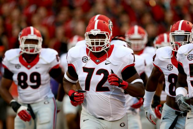 Georgia Football: NFL Draft, Graduation Leaving Huge Holes in Offensive Line