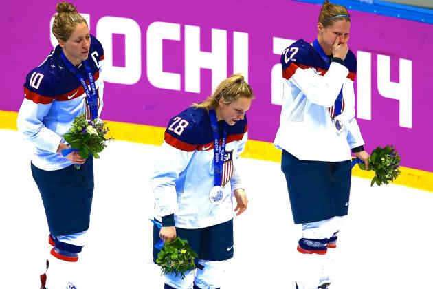 US Women's Hockey Let Gold Slip Away in Gut-Wrenching Loss to Rival Canada