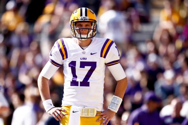 Top Transfer Options for Former LSU QB Stephen Rivers