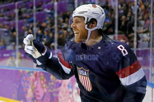 Team USA-Canada Hockey Takes Priority over NHL Loyalties