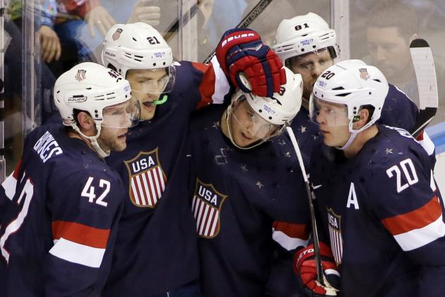 USA vs. Canada: Live Stream Info and Preview for Olympic Hockey 2014 Semifinal