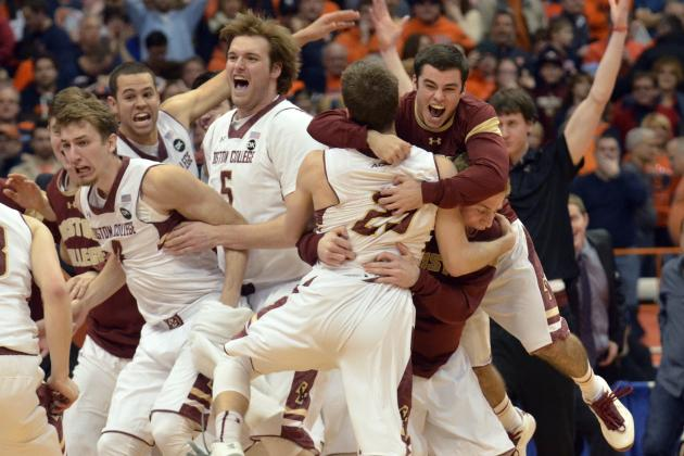 Boston College Upsets Syracuse, Becomes Worst Team to Beat AP No. 1 Team