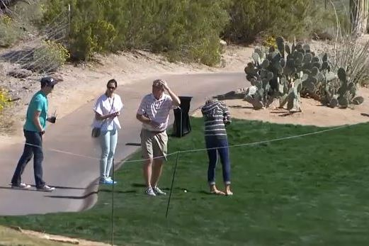 Bubba Watson Almost Hits His Wife with a Bad Shot