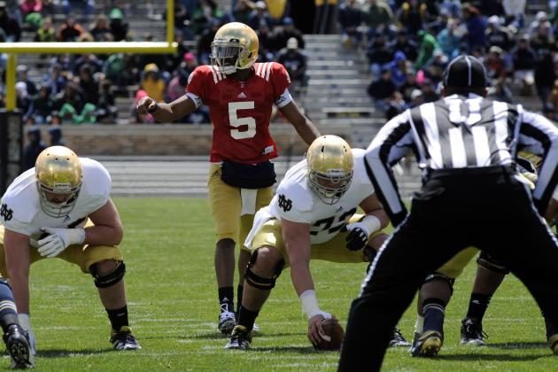 Notre Dame Football: Why Starting QB Job Isn't Automatically Everett Golson's