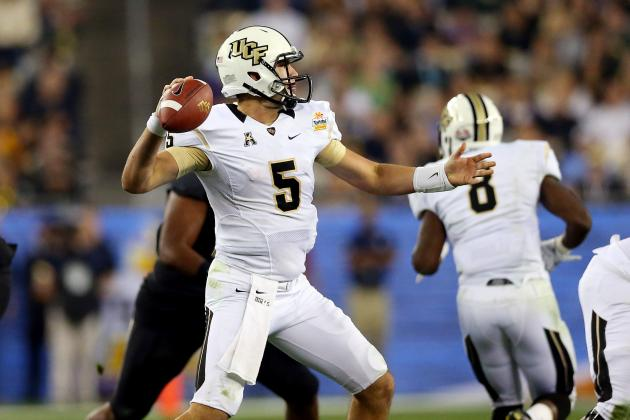 Bucs, Jaguars Showing Interest in UCF's Blake Bortles