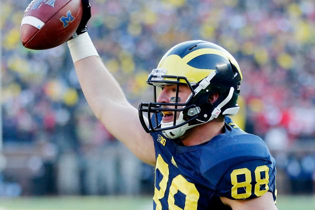 Michigan Football: How Does Jake Butt's Injury Impact Doug Nussmeier's Offense?