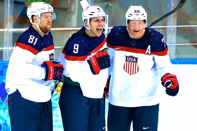 Revenge on America's Mind in 2014 Olympic Men's Hockey Showdown with Canada