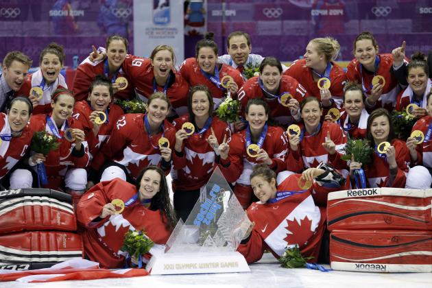 USA vs. Canada Women's Hockey Gold-Medal Game: Olympics Prove Canadian Dominance