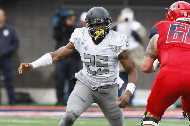Boseko Lokombo Scouting Report: NFL Outlook for Oregon Outside Linebacker
