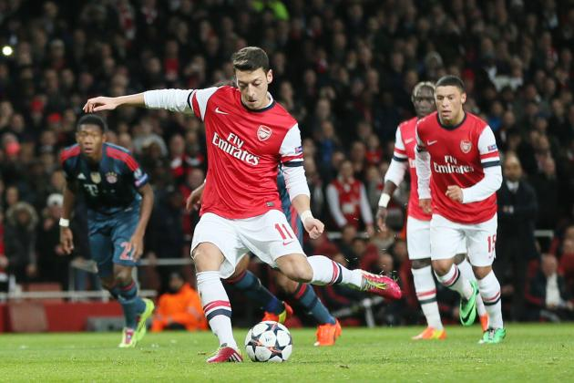 Mesut Ozil Criticised by Arsenal Director Alisher Usmanov, Defended by Teammates