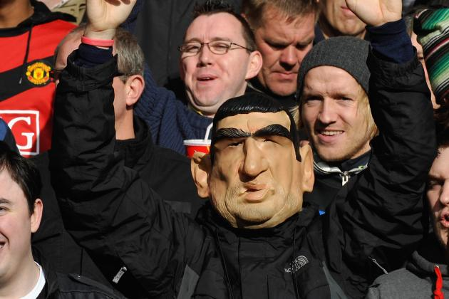 Eric Cantona Mask Tribute by Manchester United Fans Set to Rile Crystal Palace