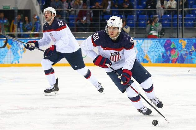 US Olympic Hockey Team 2014: Breaking Down Keys to Victory Against Canada