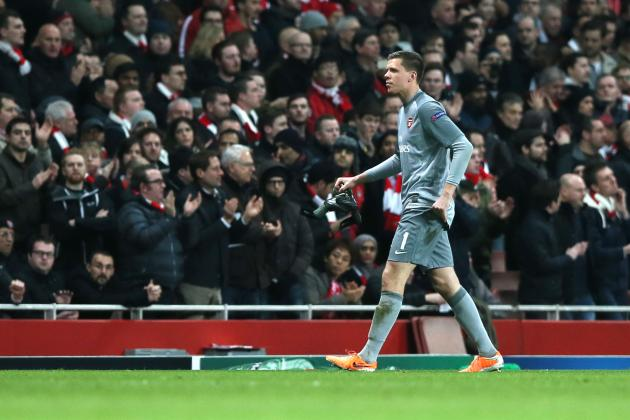 Arsene Wenger Vows to Punish Arsenal's Wojciech Szczesny for Obsene Gesture