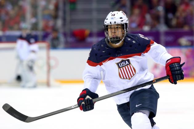 Team USA Picks Julie Chu as Flag-Bearer for 2014 Olympic Closing Ceremony
