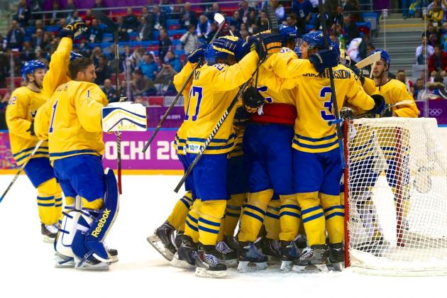 Sweden vs. Finland: Score and Recap from Olympics Hockey 2014 Semifinal