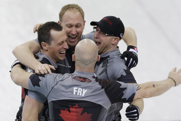 Men's Curling Gold, Silver Medal Results and Final Points from Olympics 2014