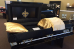 Saints Unhappy with 'Who Dat' Casket