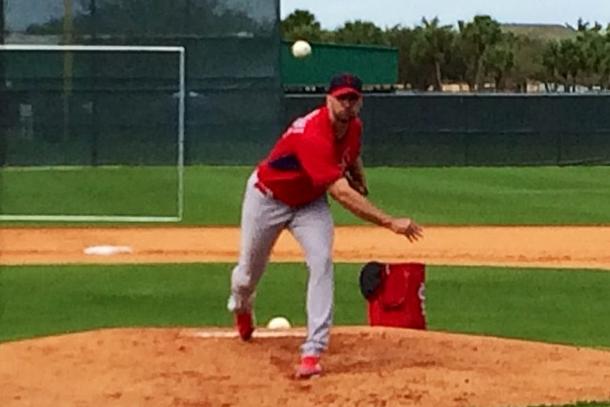 Instagram: Facing Adam Wainwright's Curveball