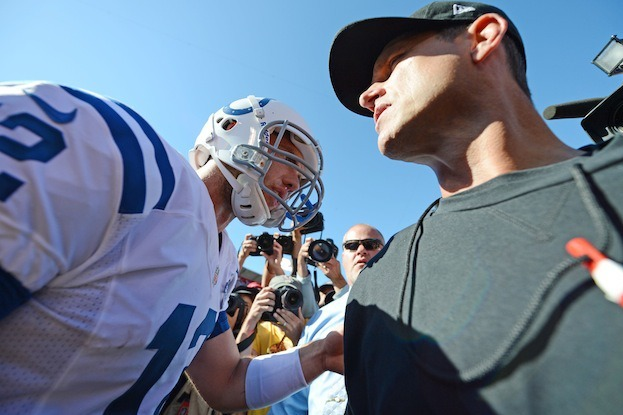 Andrew Luck Only Scratching Surface: Jim Harbaugh