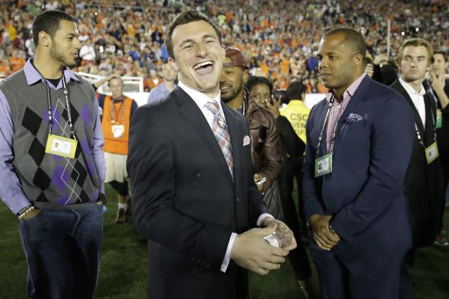 Johnny Manziel Proving an Enigma for NFL Front Offices