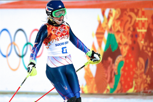 Mikaela Shiffrin Wins Gold Medal in Women's Slalom at Sochi 2014 Olympics