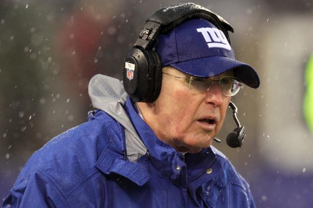 Coughlin, Giants Agree to 1-Year Contract Extension