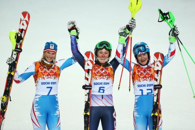 Olympic Women's Slalom Results 2014: Alpine Skiing Medal Winners and Times