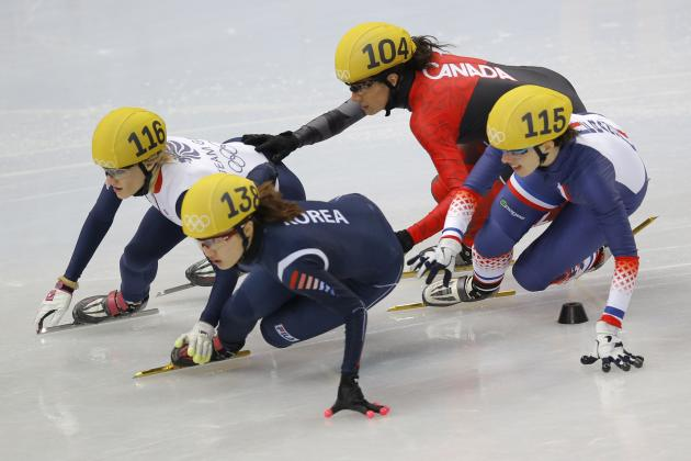 Women's Speedskating Olympics 2014: Short Track 1000m Medal Winners and Results