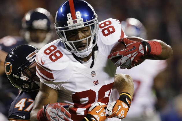 Hakeem Nicks' Chances of Returning to Giants Are 'Close to Zero'