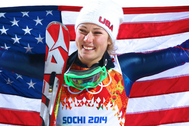 Slalom Gold Cements Teenager Mikaela Shiffrin as America's Darling in Sochi