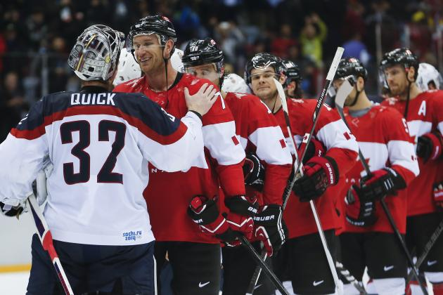 Olympic Hockey Schedule 2014: Viewing Info for Men's Medal Games in Sochi
