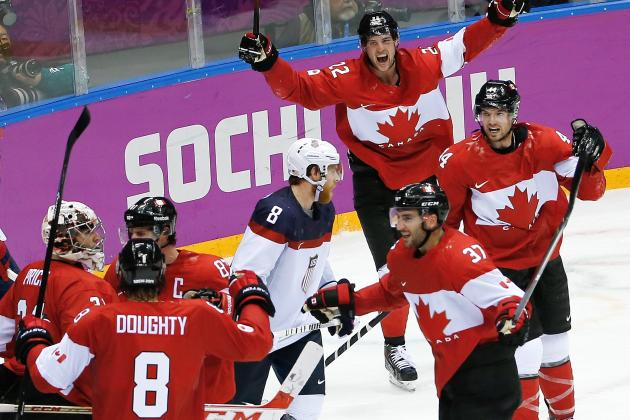 Canada Beats United States in Olympic Semifinal from Sochi, Will Play for Gold