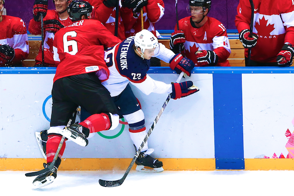 Team USA's Golden Dreams Silenced by Canada's 'D' in 2014 Olympic Hockey Semis