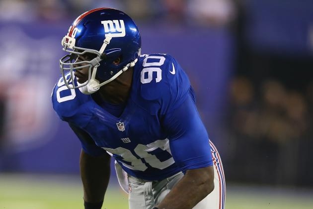 Coughlin: Pierre-Paul 'Wants to Be the Player That He Was a Couple Years Ago'