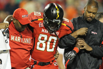 Terps Receiver Tyrek Cheeseboro Leaves Football Team