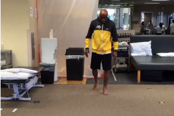 Anderson Silva Walks Without Crutches in Latest Injury Update Video
