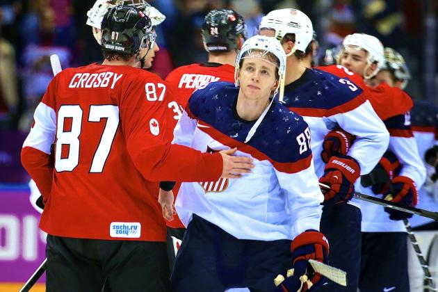 Team USA Still the Little Brother in Olympic Hockey Rivalry with Canada