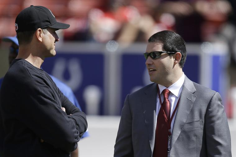 49ers CEO Jed York Refutes Rumor of Browns Nearly Trading for Jim Harbaugh