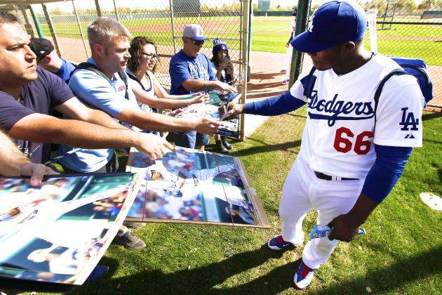 Is Yasiel Puig's Weight Gain Proof He Won't Change His Ways in 2014?