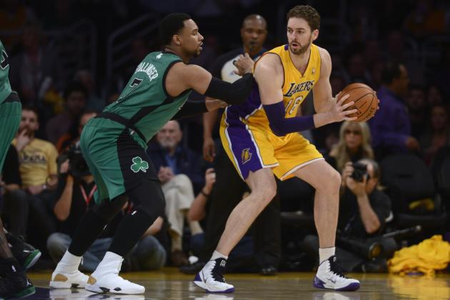 Boston Celtics vs. Los Angeles Lakers: Postgame Grades and Analysis