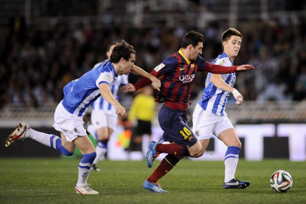 Real Sociedad vs. Barcelona: Date, Time, Live Stream, TV Info and Preview
