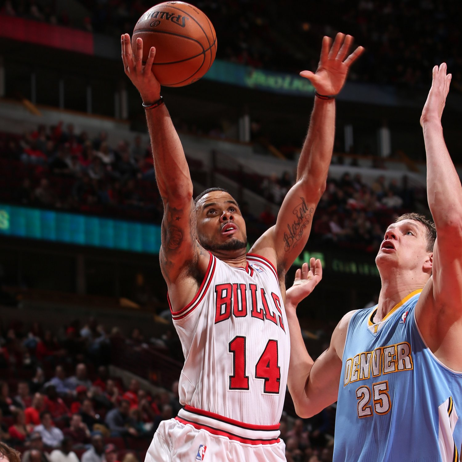 Denver Nuggets Vs. Chicago Bulls 2/21/14: Video Highlights