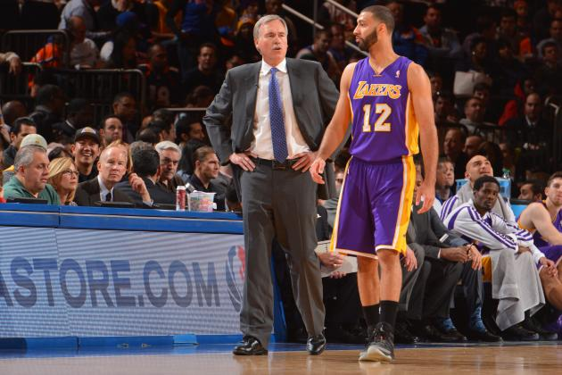 Mike D'Antoni Takes Ironic Dig at Kendall Marshall