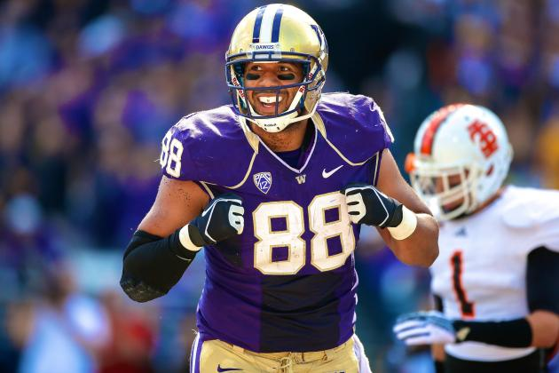 Austin Seferian-Jenkins Hopes to Combine the Best of the Best NFL Tight Ends