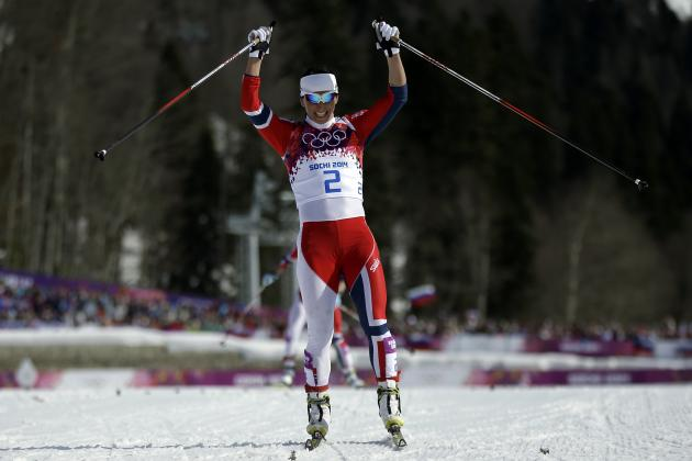Olympics 2014 Cross Country Skiing Women's 30km Mass Start Free Medal Results