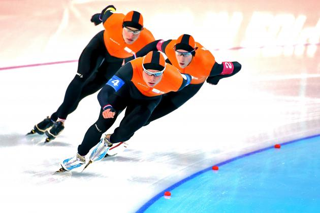 Olympic Speedskating 2014: Live Results and Analysis of Team Pursuit