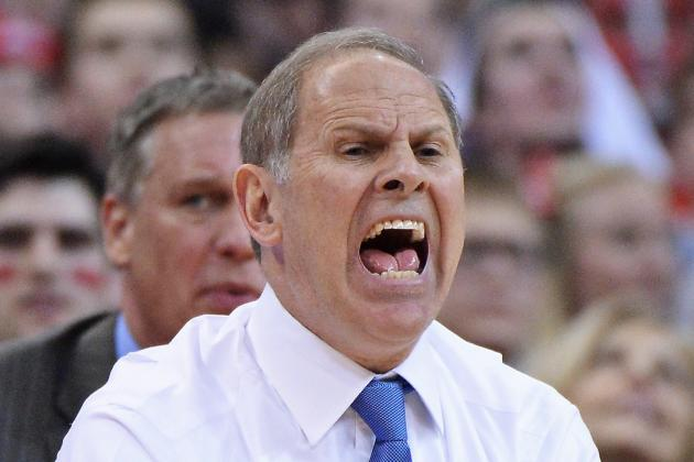 John Beilein Doesn't View Game vs. MSU as Must-Win in Big Ten Title Race