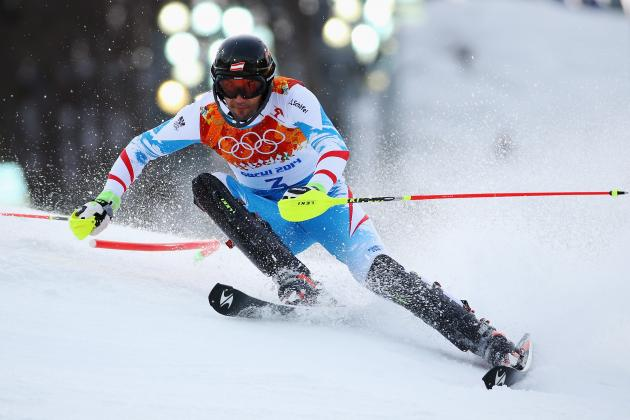 Alpine Skiing Slalom Olympics 2014: Men's Qualifying Results and Recap